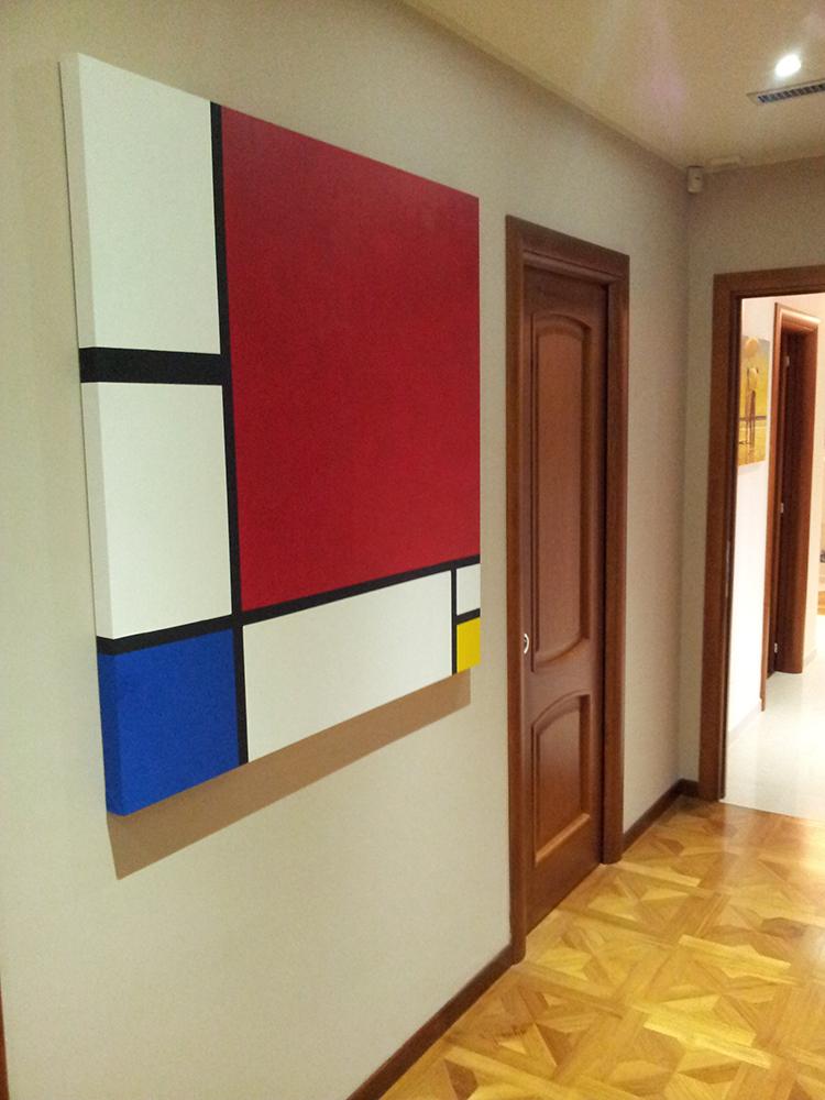 quadri geometrici moderni
