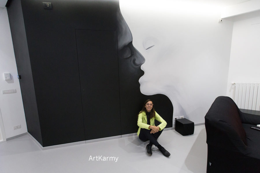 murales bacio