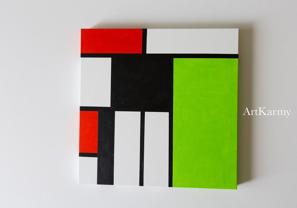 quadri geometrici artkarmy laboratorio creativo