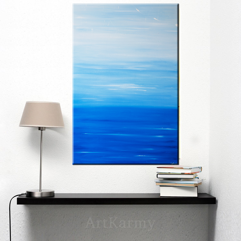 dipinto su tela mare