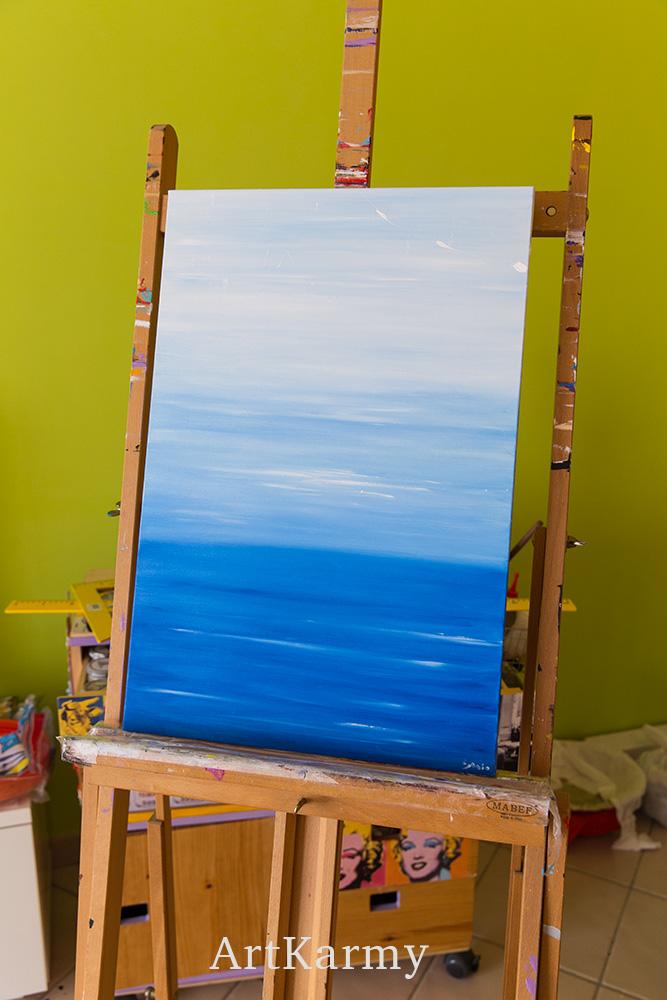 quadro con mare