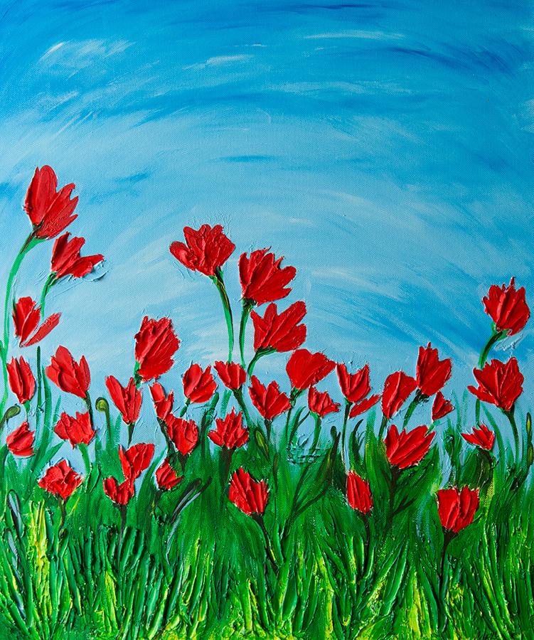 quadri moderni floreali