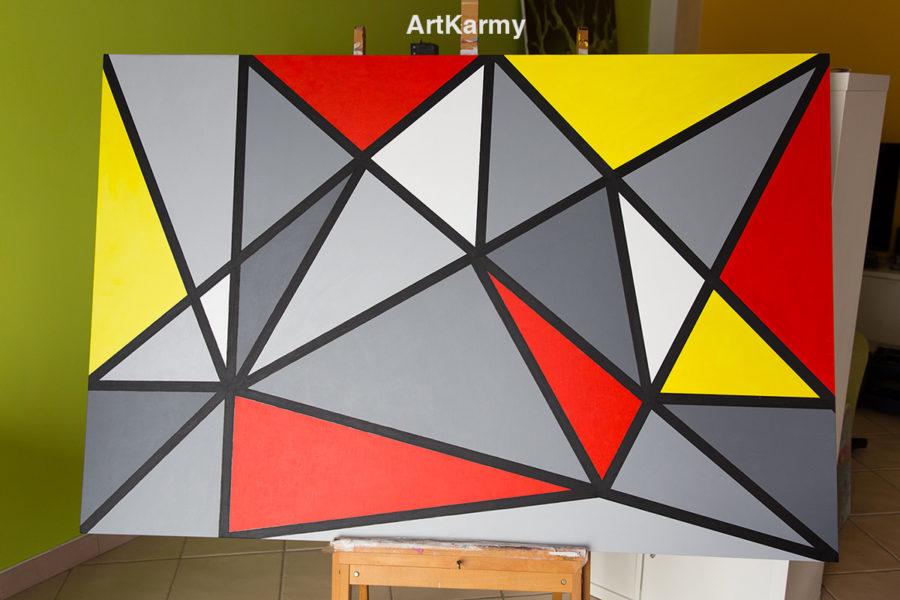 quadro geometrico moderno