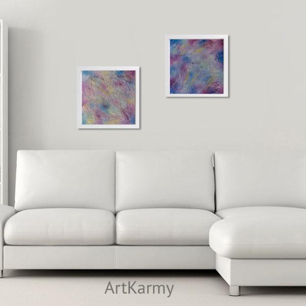 dipinti moderni astratti fatti a mano