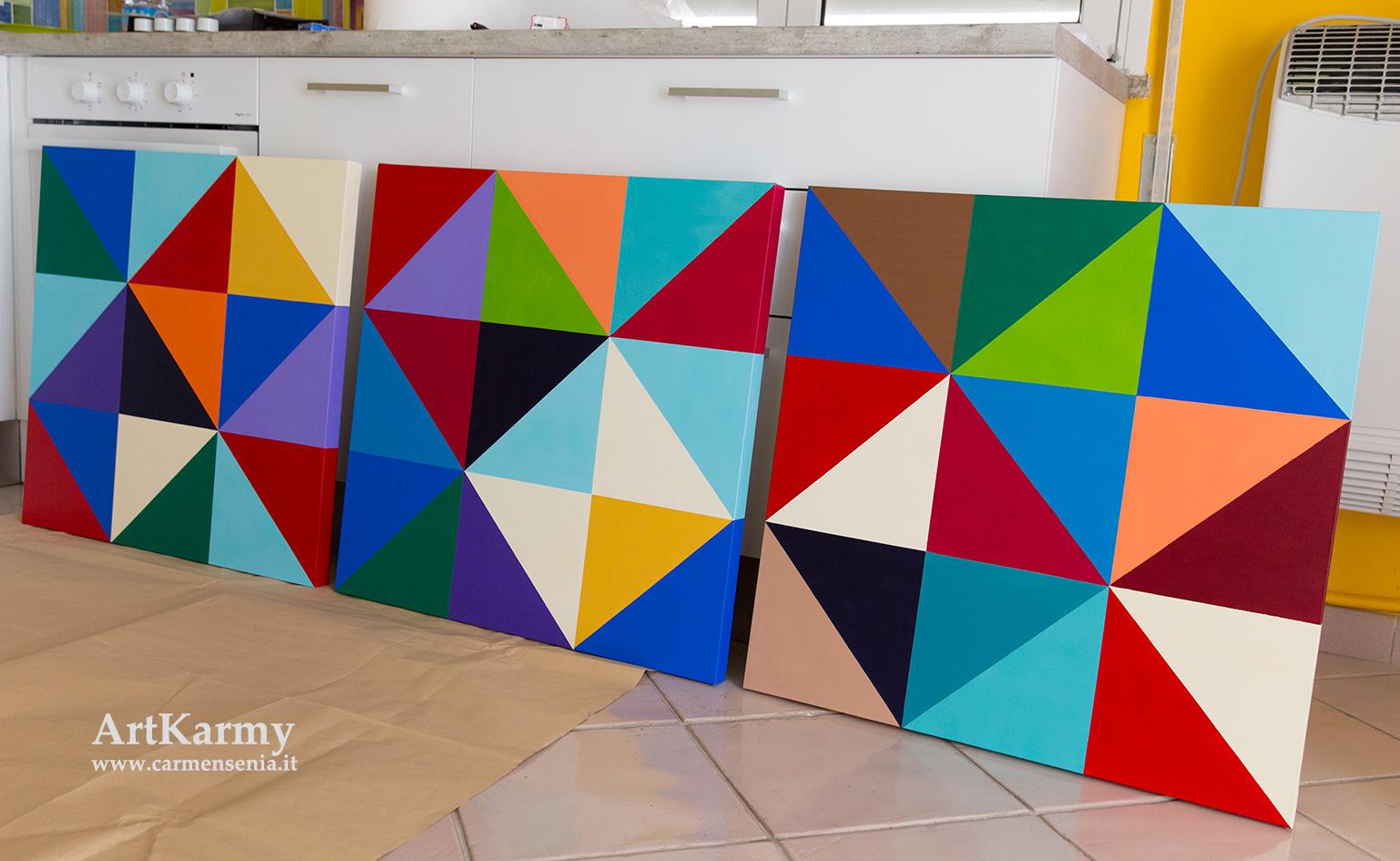 dipinti-geometrici moderni