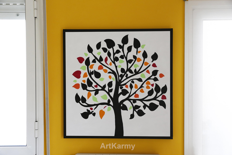 albero della vita dipinto moderno