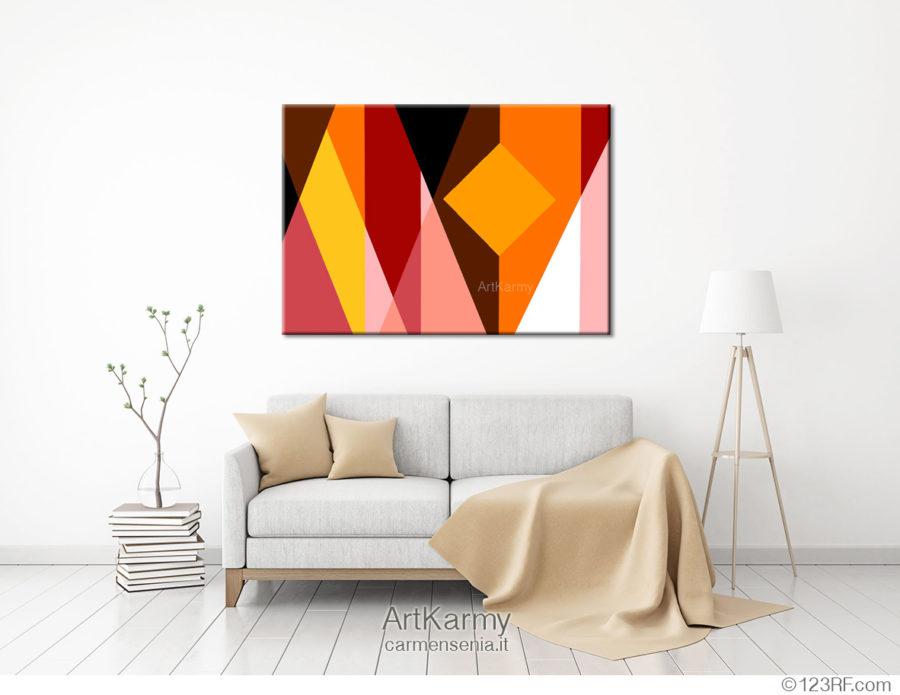 dipinti moderni geometrici