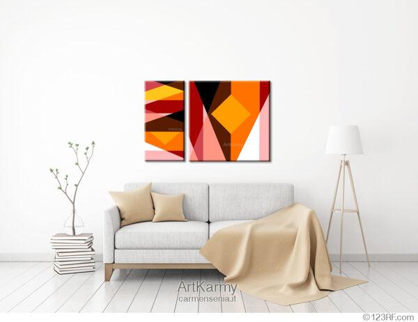 quadro moderno geometrico