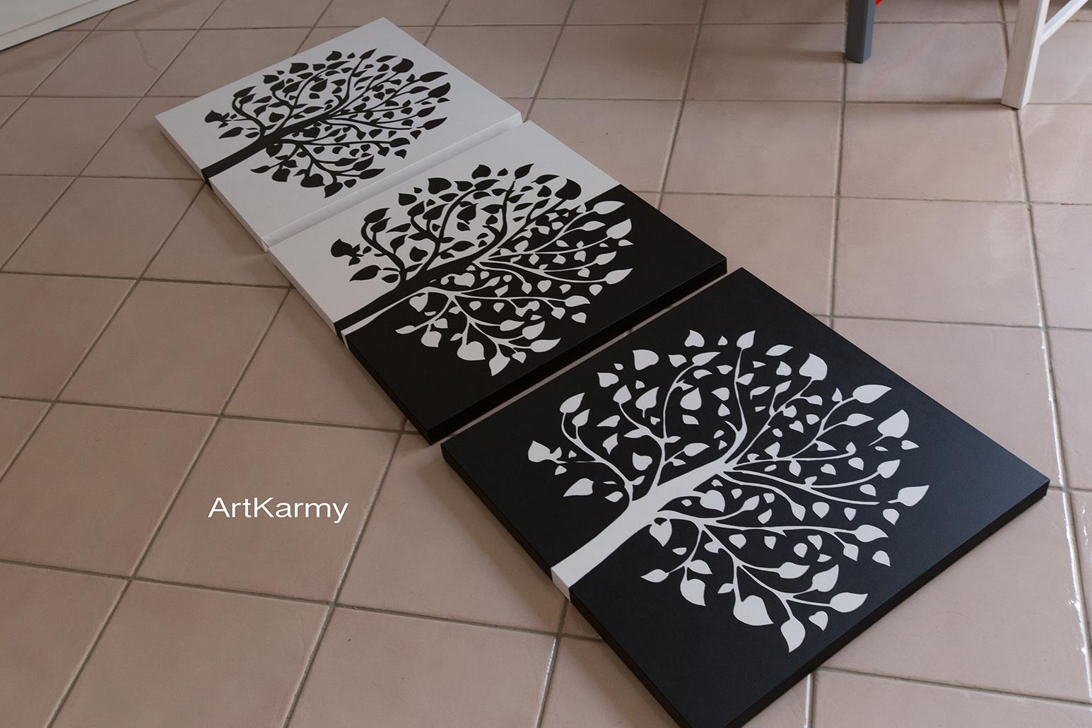 dipinti su tela albero della vita