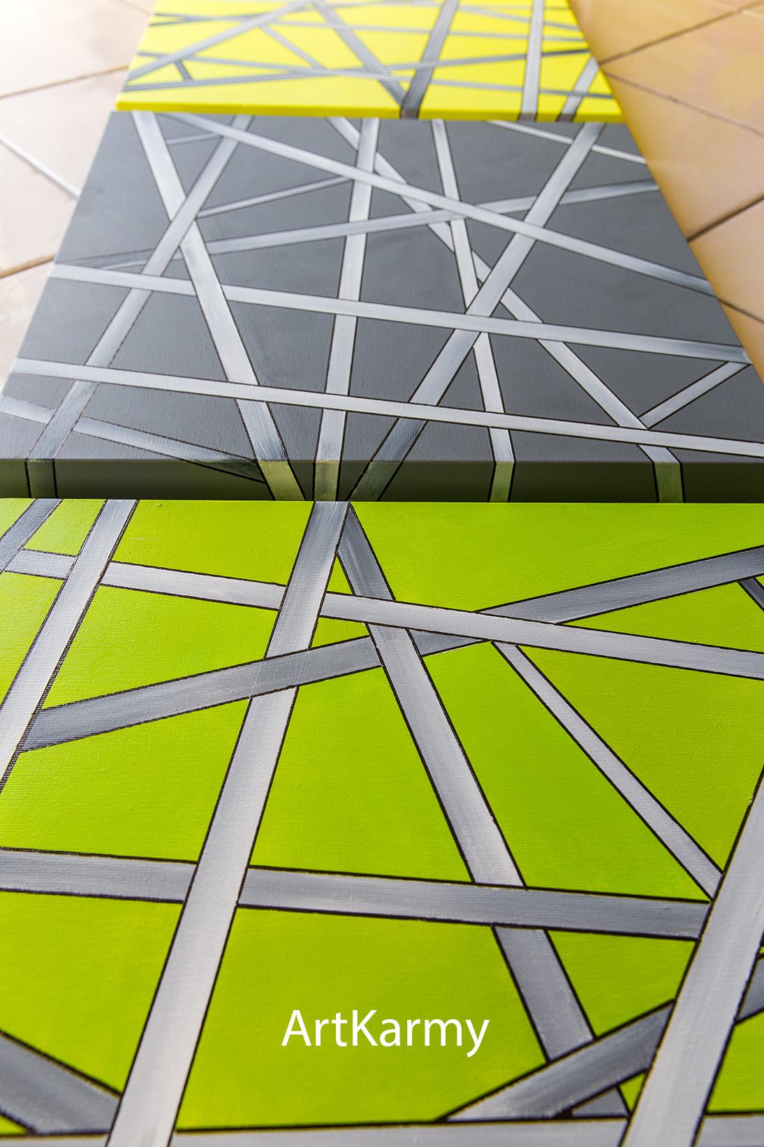 dipinti geometrici