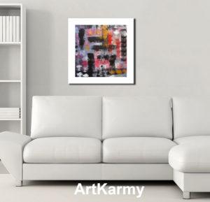 dipinto moderno astratto