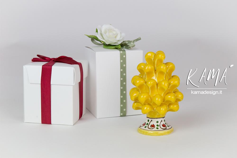 pigna ceramica regalo natale
