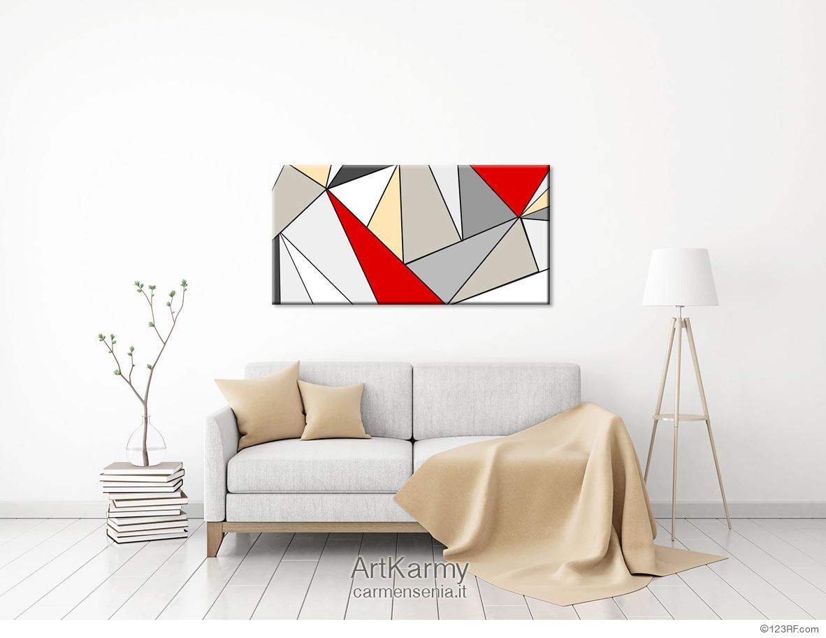dipinto geometrico