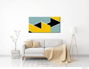 dipinto geometrico oman