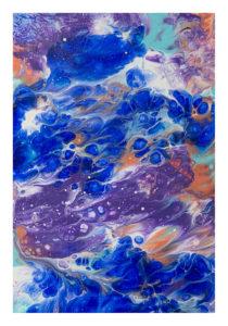 dipinto astratto mare