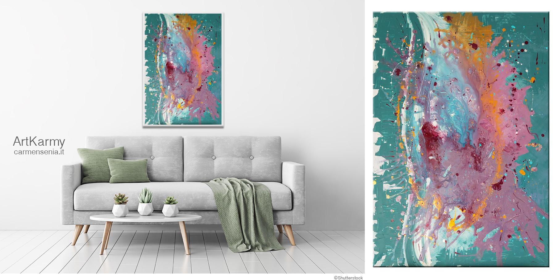 dipinto astratto